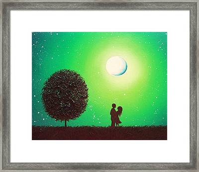 Love's Embrace Framed Print