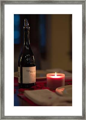 Love's Flame Burns Bright Framed Print by Mike Hendren