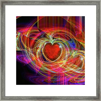 Love's Joy Framed Print by Michael Durst