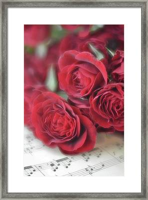Love's Music Framed Print
