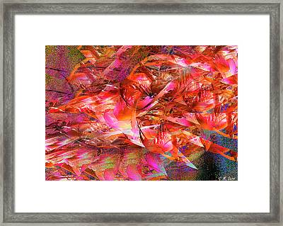 Loves Whirlwind Framed Print by Michael Durst