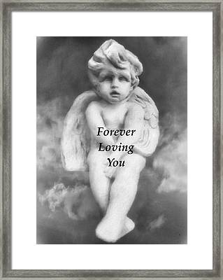 Loving Angel  Framed Print