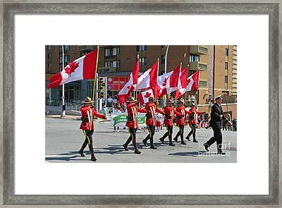 Loving Canada Framed Print