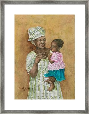 Loving Care Framed Print