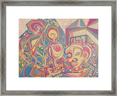 Loving Colors Framed Print by Suzanne  Marie Leclair