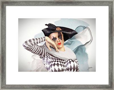 Loving Doll Framed Print