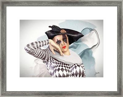 Loving Doll Framed Print by Joaquin Abella