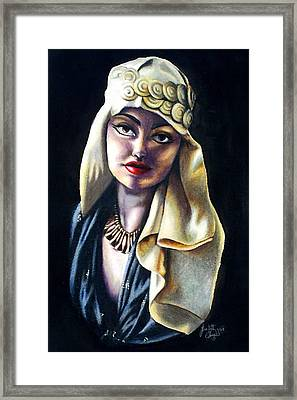 Loving Light Framed Print by Scarlett Royal