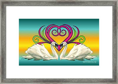 Loving Souls Framed Print