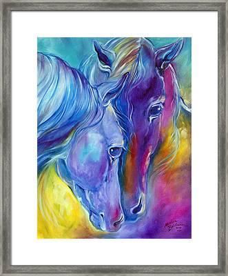 Loving Spirits Framed Print by Marcia Baldwin