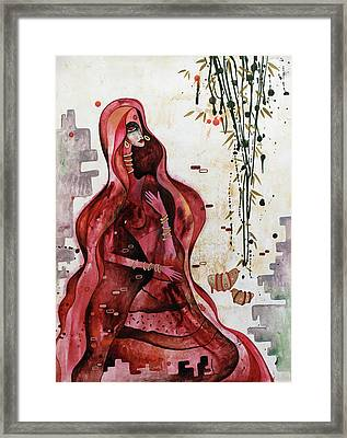 Loving The Unknown - Seeking Framed Print