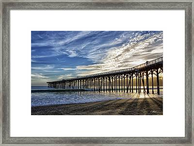 Loving The View Framed Print