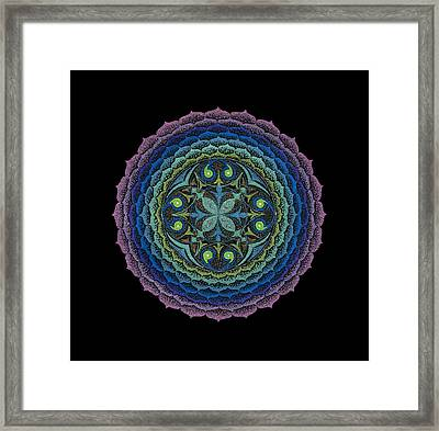 Framed Print featuring the painting Loving Truly by Keiko Katsuta
