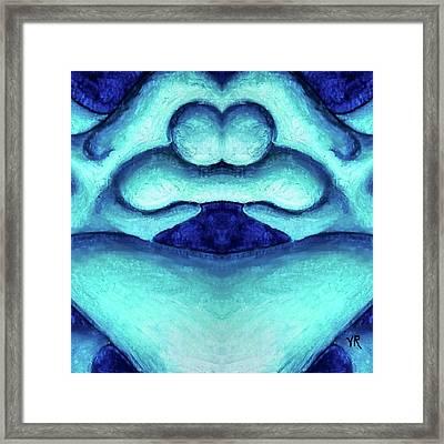 Loving Union Framed Print by Versel Reid