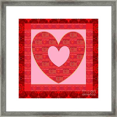 Loving You Framed Print