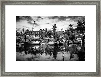 Lovric's Sea Craft Washington Framed Print by TL Mair
