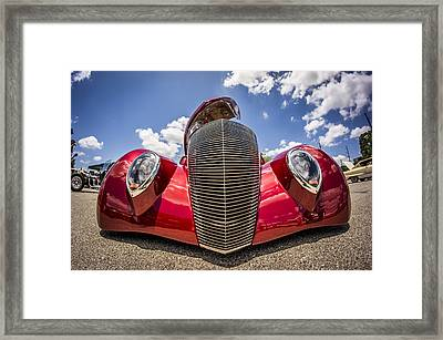 Low And Cool Framed Print