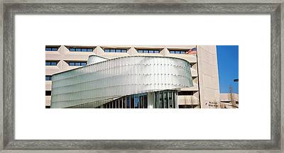 Low Angle View Of A Building, Dr. A. H Framed Print by Panoramic Images