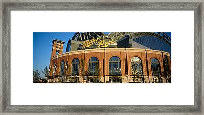 Low Angle View Of A Stadium, Major Framed Print by Panoramic Images