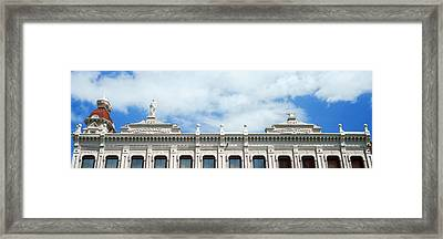 Low Angle View Of Teiner-lobman Framed Print
