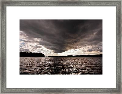 Low Ceiling Framed Print