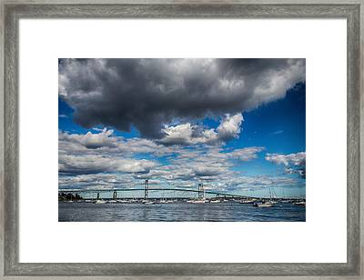 Low Clouds Framed Print by Karol Livote