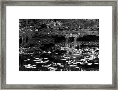 Low Falls Framed Print