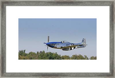 Low Flyer Framed Print by Donald Tusa