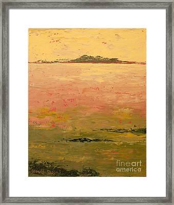 Low Land Framed Print