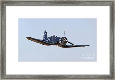 Low Pass Framed Print by Kevin McCarthy