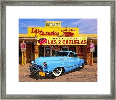Low Rider At Las Cazuelas Framed Print
