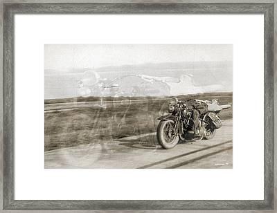 Low Rider Framed Print