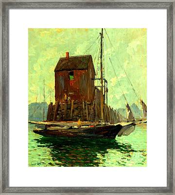 Low Tide 1911 Framed Print