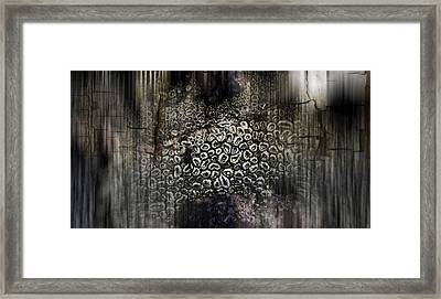 Low Tide Abstraction Framed Print