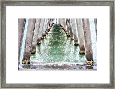 Low Tide Apierance Framed Print by Barbara Chichester