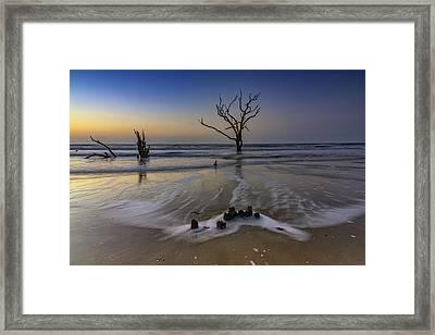 Low Tide At Botany Bay Framed Print
