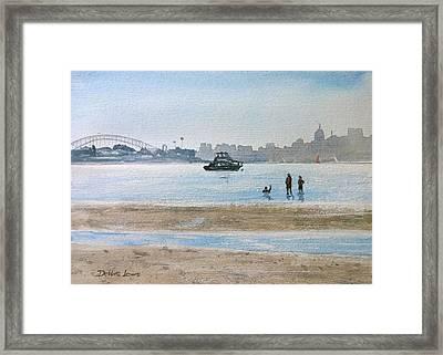 Low Tide At Rose Bay Framed Print