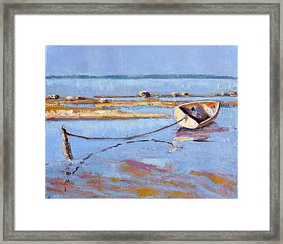 Low Tide Flats II Framed Print