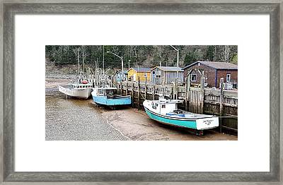 Low Tide In St. Martins Framed Print