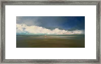 Low Tide  Framed Print by Michael Marrinan