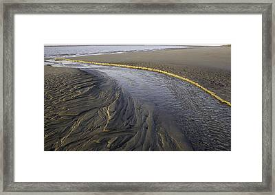 Low Tide Morning Framed Print