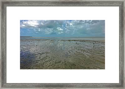 Low Tide No. 69-1 Framed Print