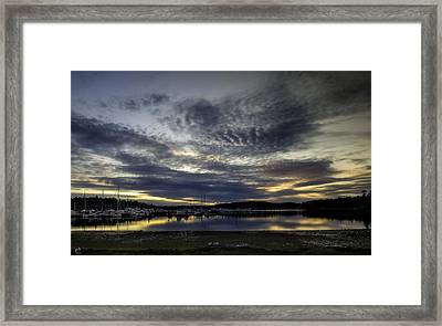 Low Tide Roche Harbor Framed Print by Thomas Ashcraft