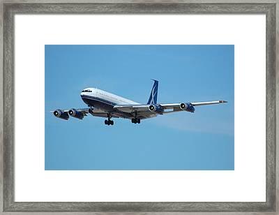 Lowa Limited Boeing 707 N88zl Framed Print by Brian Lockett