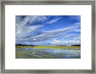 Lowcountry Flood Tide II Framed Print