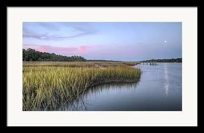 Tidal Creek Framed Prints