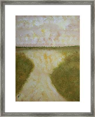 Lowcountry Marsh Original Painting Framed Print by Sol Luckman