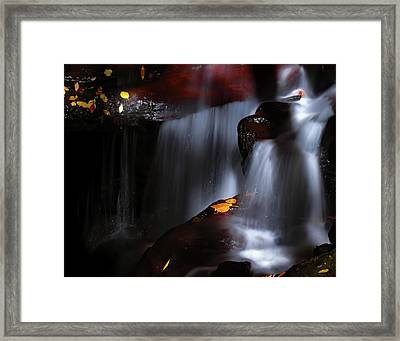Lower Amicalola Falls Framed Print