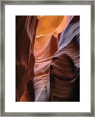 Lower Antelope Canyon Navajo Tribal Park #1 Framed Print