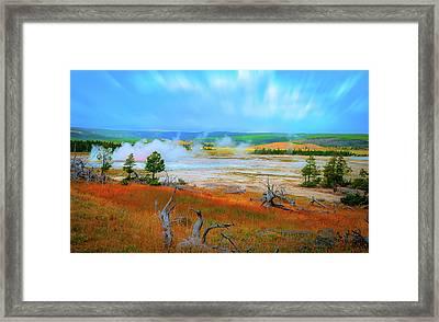 Lower Basin Framed Print by Mark Dunton